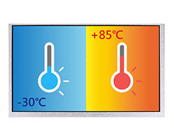Wide Temperature TFT LCD