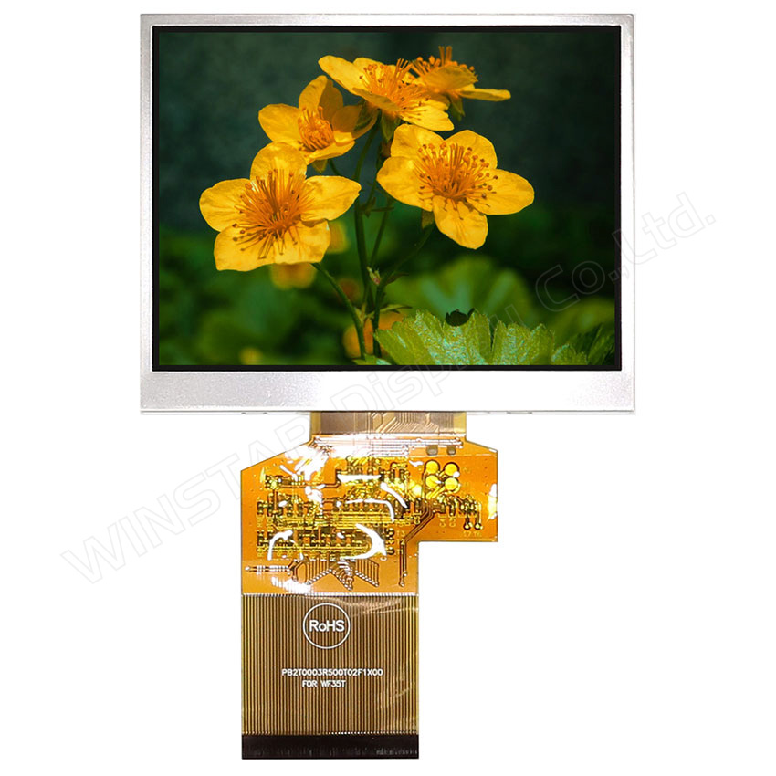 3.5 Wide Temperature Active Matrix TFT LCD Display
