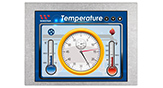 Wide Temperature LCD Display, Active Matrix Display 5.7